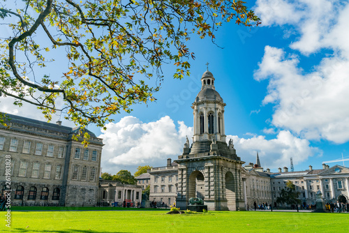 The Campanile of Trinity College Wallpaper Mural