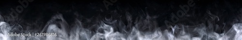 Fotobehang Rook Abstract smoke on a dark background