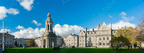 The Campanile of Trinity College Canvas Print