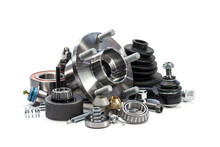 Parts For Cars. Hub. Assortment.