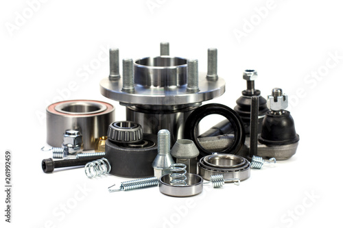 Spare parts for cars. Hub. Fototapet