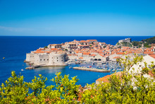 Old Town Of Dubrovnik In Summe...