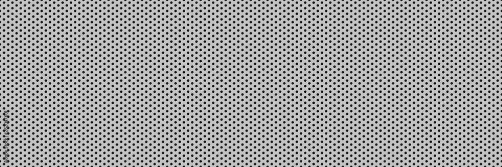 Fototapeta Metal grid grid holes . Vector background