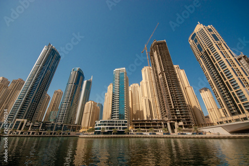 Canvas Prints Light pink Dubai is a city and emirate in the United Arab Emirates