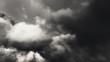 Halloween dark film noir eerie storm clouds time lapse seamless loop