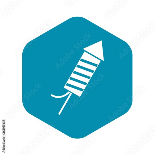 Petard icon. Simple illustration of petard vector icon for web Fototapet