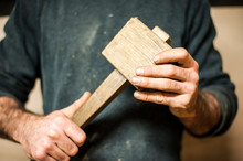 Crafter With A Vintage Wooden ...