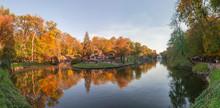 Fall In Sofiyivka Park In Uman...