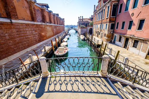 Photo  canal in venice - italy