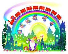 Illustration Of Fantasy Fairyl...
