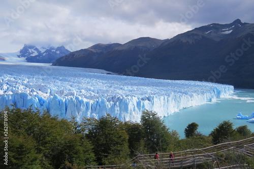 Printed kitchen splashbacks Glaciers Glaciar