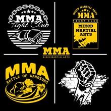 MMA Mixed Martial Arts Emblem ...