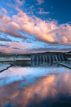 Grand Coulee Dam In Central Wa...