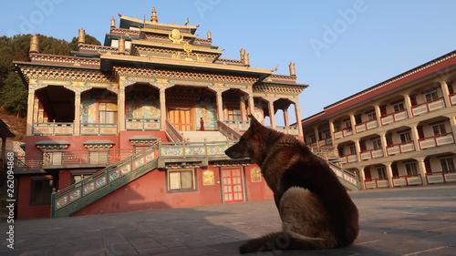 Photo  Nala monastery in Nepal