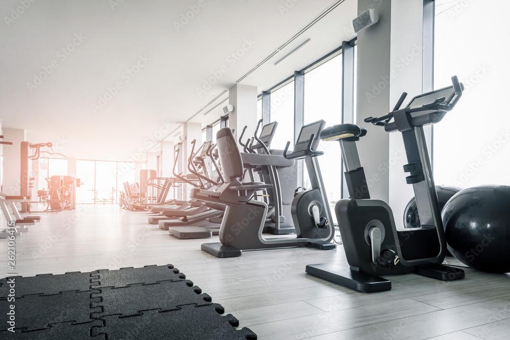 Fototapety, obrazy: Empty modern gym