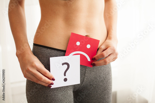 Fotomural Vaginal or urinary infection and problems concept