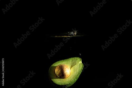Poster Puma fresh avocado splash water