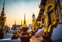 Temple In Chaing Mai, Thailand