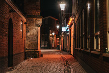 Red Light District In Amsterdam, Netherlands. Capital Of Udult And Sex Tourism