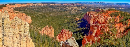 Fotografia view of bryce canyon in utah usa national park