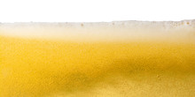 Beer Foam Close-up