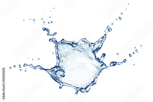 Tablou Canvas Water splash, isolated on white background