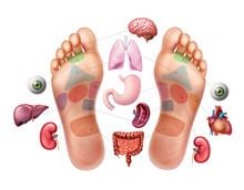 Acupuncture Foot Soles