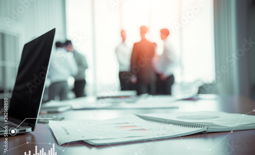 Conference enterprise business group of the corporate Fototapet