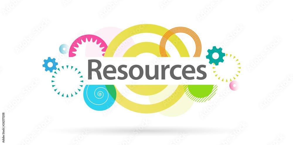 Fototapeta Resources