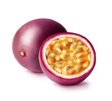 Passion Fruit Isolated. Whole ...