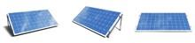 3D Illustration Solar Panels I...