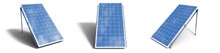 3D Illustration Solar Panels I...