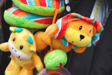 Soft Cuddly Toys Hanging From ...
