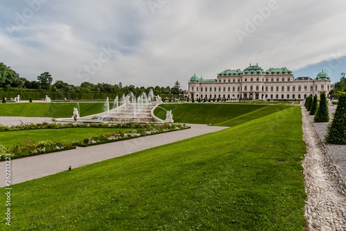 Photo  Belvedere Palace and Park, Vienna