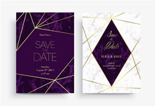 Two Save The Date Card Templat...