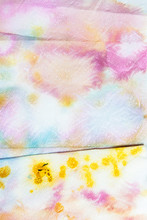 Tie-Dyed Paper Towels