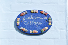 Fishermans Cottage Sign With F...