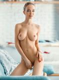 beautiful girl posing nude