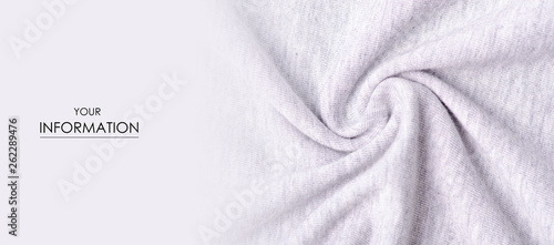 Obraz White gray fabric material textile texture pattern macro blur background - fototapety do salonu