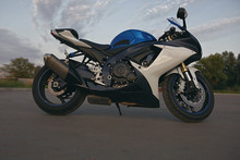 Sports Motorcycle, ,without People