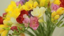 Small Bouquet Of Multicolored ...