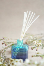 Blue Aroma Diffuser Bottle Wit...