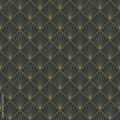 art-deco-seamless-pattern-powtarzajacy-sie-wzor-z-motywem-art-deco-w-kolorze-antracytu-i-rocznika-zlota