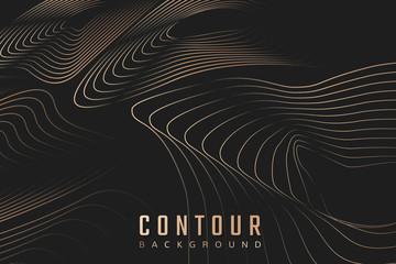 Contour background