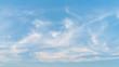 Leinwandbild Motiv Sunset sky and white clouds abstract background.