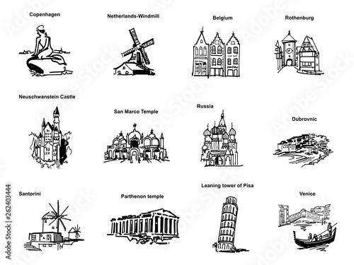Fotografía  ヨーロッパの観光地-ピクト