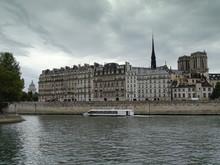 Panorama Of Seine River In Par...