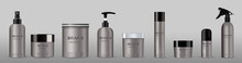 Blank Cosmetic Package Metal M...