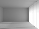 Fototapeta  - empty white room