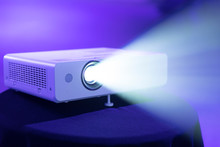 Projector Light Showing